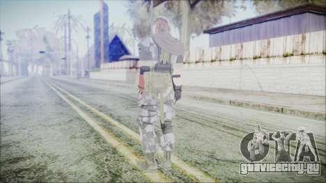 MGSV Phantom Pain Snake Scarf Square для GTA San Andreas третий скриншот