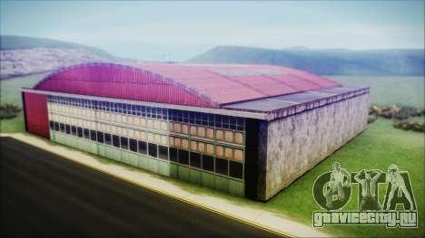 HD Desert Hangar Mipmapped для GTA San Andreas третий скриншот