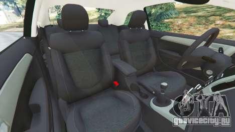Kia Forte Koup SX [Beta] для GTA 5 вид справа