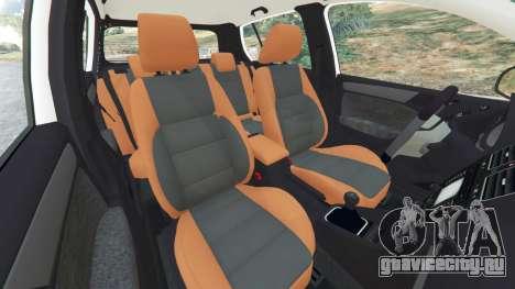 Volkswagen Golf Mk6 v2.0 [ABT] для GTA 5 вид справа