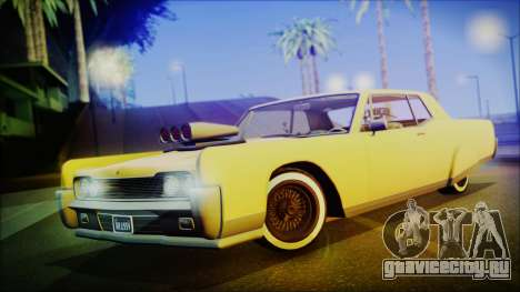 GTA 5 Vapid Chino Hydraulic Version IVF для GTA San Andreas