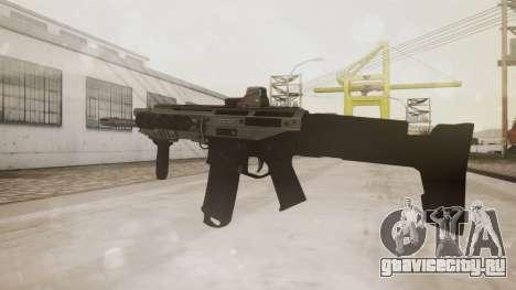 Bushmaster ACR Silver для GTA San Andreas второй скриншот