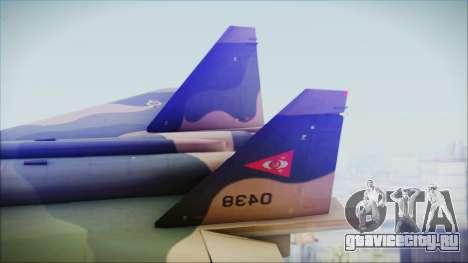 Mikoyan MIG 1.44 Flatpack Venezuelan Air Force для GTA San Andreas вид сзади слева