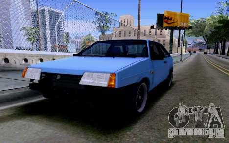 Ваз 2108 V2 для GTA San Andreas вид сверху