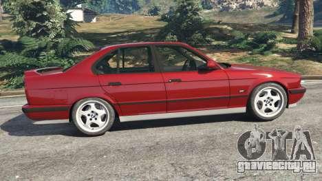 BMW M5 (E34) 1991 для GTA 5 вид слева