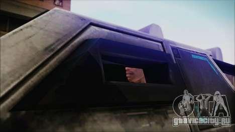 Hummer H2 C.E.L.L. Crysis 2 для GTA San Andreas вид сзади слева