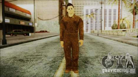 Michael Myers Movie Halloween для GTA San Andreas второй скриншот