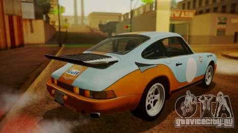 RUF CTR Yellowbird (911) 1987 HQLM для GTA San Andreas колёса