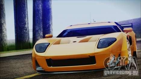 Ford GT-R mk.7 для GTA San Andreas