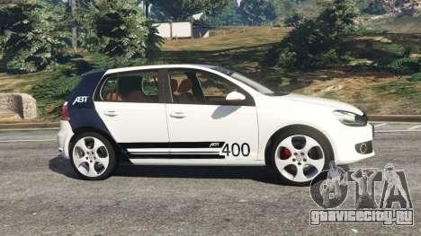 Volkswagen Golf Mk6 v2.0 [ABT] для GTA 5 вид слева