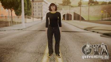 GTA Online - Custom Girl (Lowrider DLC Clothes) для GTA San Andreas второй скриншот