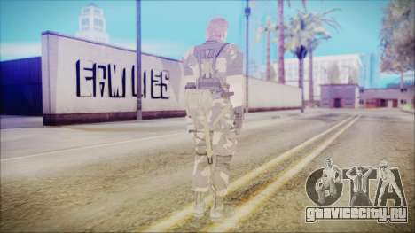 MGSV Phantom Pain Snake Normal Splitter для GTA San Andreas третий скриншот