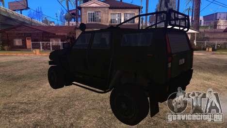 Komatsu LAV 4x4 Unarmed для GTA San Andreas вид слева