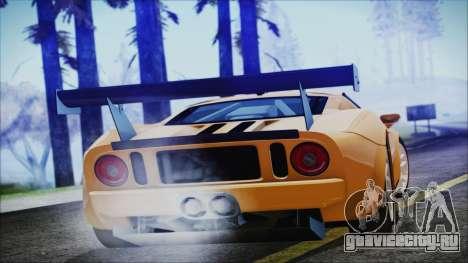 Ford GT-R mk.7 для GTA San Andreas вид слева