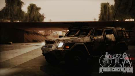 Joint Light Tactical Vehicle для GTA San Andreas вид справа