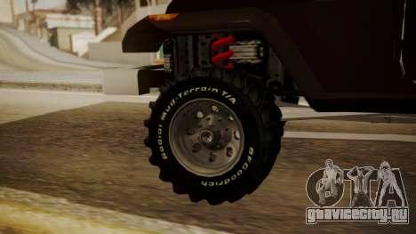 New Mesa Wild для GTA San Andreas вид сзади слева