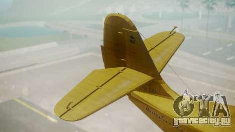 Grumman G-21 Goose VHLXD для GTA San Andreas вид сзади слева