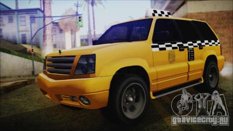 Albany Cavalcade Taxi (Saints Row 4 Style) для GTA San Andreas