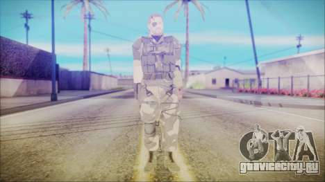 MGSV Phantom Pain Snake Normal Splitter для GTA San Andreas второй скриншот