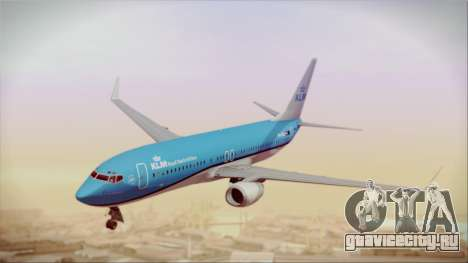 Boeing 737-800 KLM Royal Dutch Airlines для GTA San Andreas