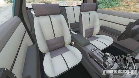 Chevrolet Camaro IROC-Z [Beta 3] для GTA 5 вид справа