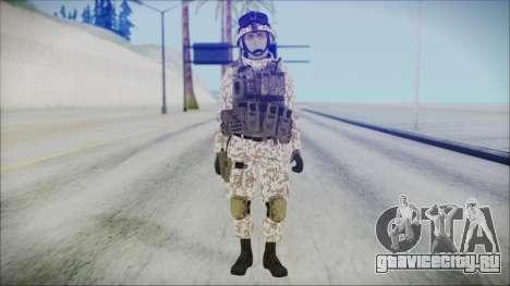 Bundeswehr Desert v1 для GTA San Andreas второй скриншот