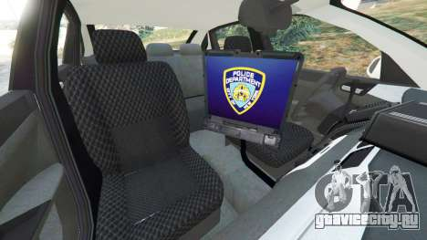 Chevrolet Impala NYPD для GTA 5 вид справа