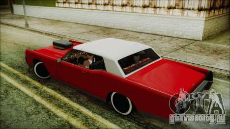 GTA 5 Vapid Chino Custom IVF для GTA San Andreas вид слева