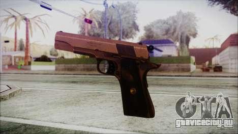 Original Colt 45 HD для GTA San Andreas третий скриншот
