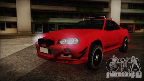 Nissan Skyline R34 Offroad Spec для GTA San Andreas