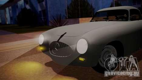 Mercedes-Benz 300 SL (W194) 1952 IVF АПП для GTA San Andreas вид сзади слева