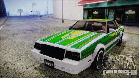 GTA 5 Willard Faction Custom Bobble Version IVF для GTA San Andreas вид сбоку
