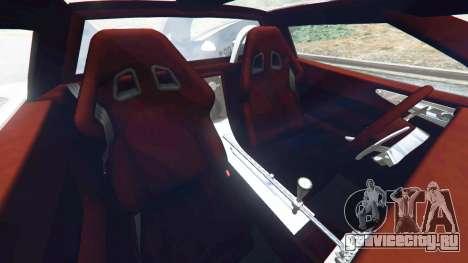 Spyker C8 Aileron для GTA 5 вид справа