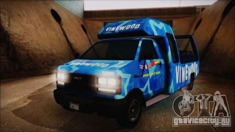 Vinewood VIP Star Tour Bus (Fixed) для GTA San Andreas