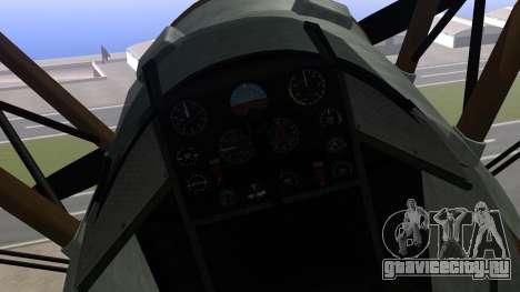 GTA 5 Duster для GTA San Andreas вид справа
