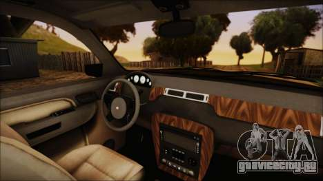 GTA 5 Declasse Granger SA Style для GTA San Andreas вид справа