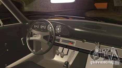 Porsche 911 Carrera RS 2.7 (901) 1973 для GTA San Andreas вид сзади слева