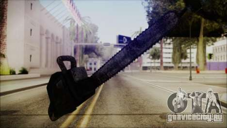 Helloween Chainsaw для GTA San Andreas второй скриншот