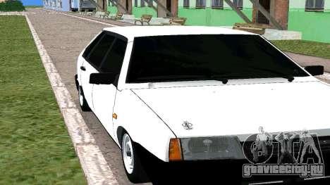 ВАЗ 2109 БПАN для GTA San Andreas вид слева