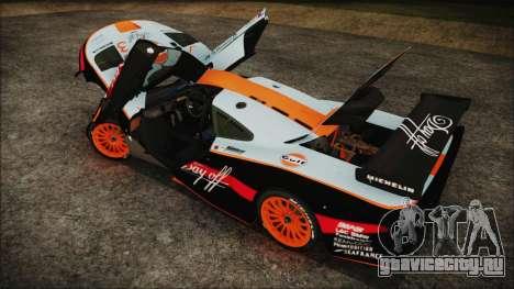 McLaren F1 GTR 1998 для GTA San Andreas двигатель