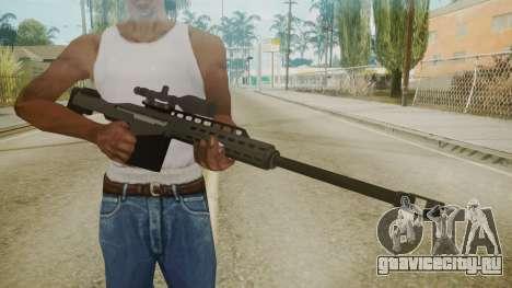 GTA 5 Sniper Rifle для GTA San Andreas третий скриншот