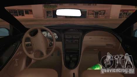 Ford Mustang GT 1993 v1.1 для GTA San Andreas вид справа