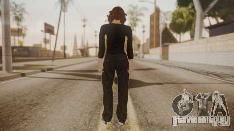 GTA Online - Custom Girl (Lowrider DLC Clothes) для GTA San Andreas третий скриншот