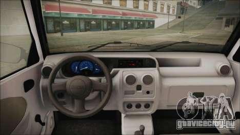 Dacia Solenza Politia для GTA San Andreas вид сзади слева