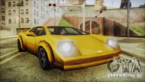 Vice City Infernus для GTA San Andreas