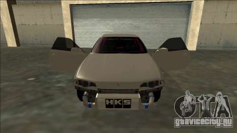 Nissan Skyline R32 Drift для GTA San Andreas салон