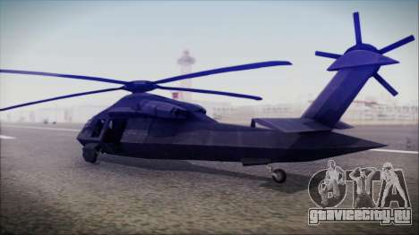 UH-80 Ghost Hawk для GTA San Andreas вид слева