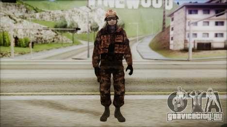 Chinese Army Desert Camo 1 для GTA San Andreas второй скриншот