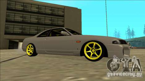 Nissan Skyline R33 Drift для GTA San Andreas вид сзади