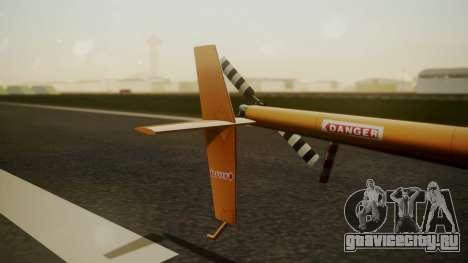 Robinson R-22 de Seguridad Vial для GTA San Andreas вид сзади слева